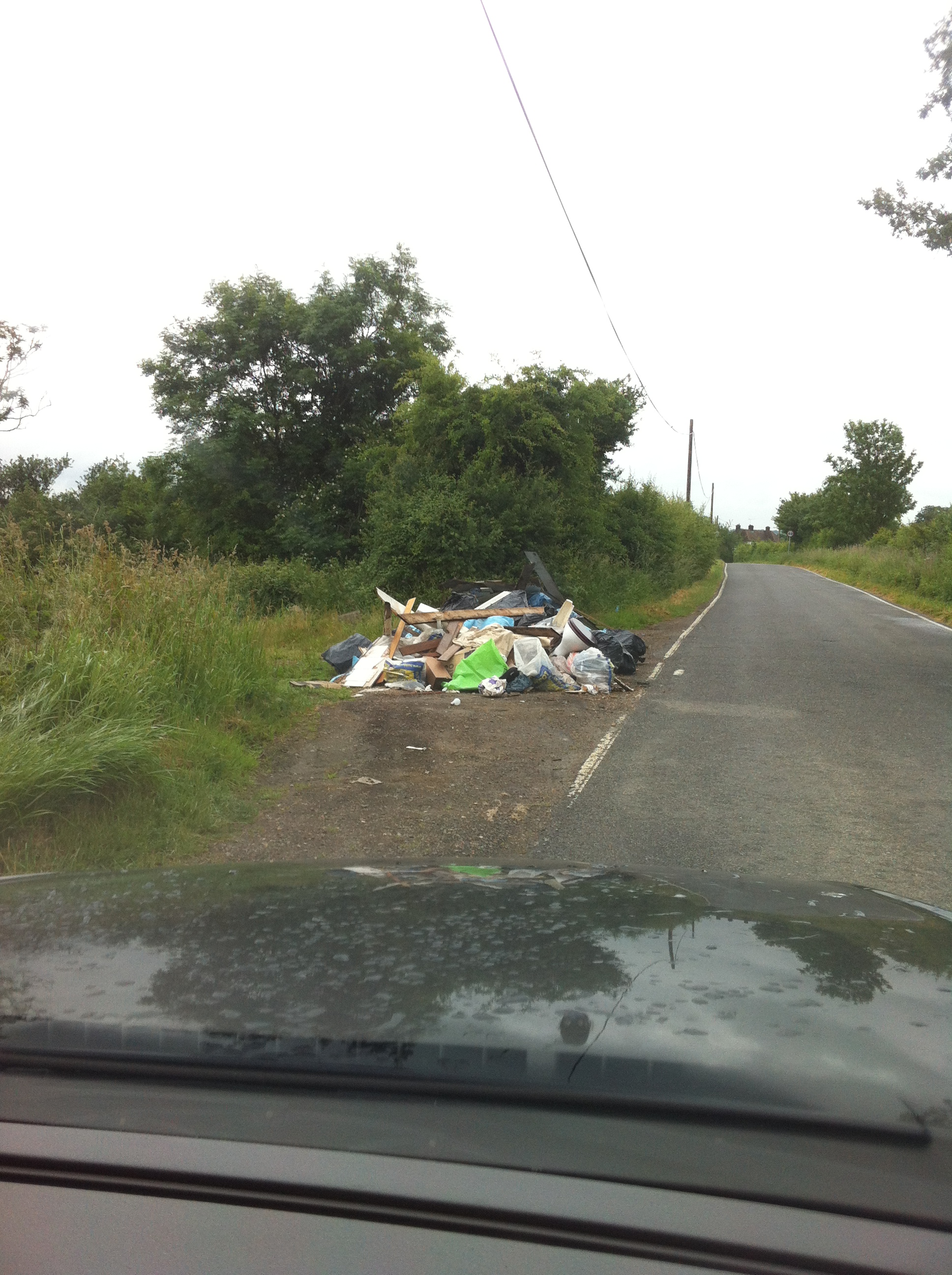 SRPC School Rd Fly Tipping